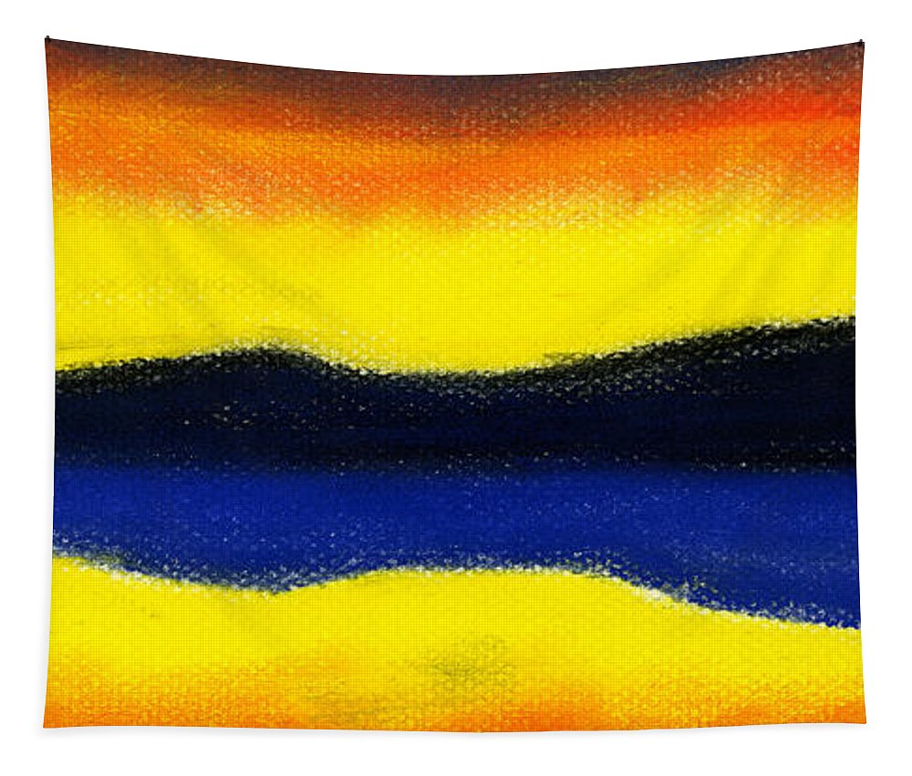 Hakon Tapestry featuring the painting Colours Of Sky by Hakon Soreide