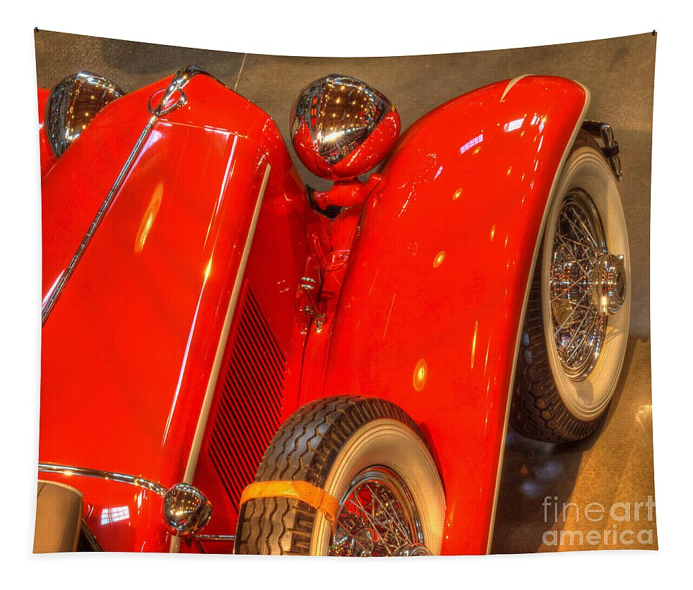 Classic Cars Tapestry featuring the photograph Cord Automobile by Bob Christopher