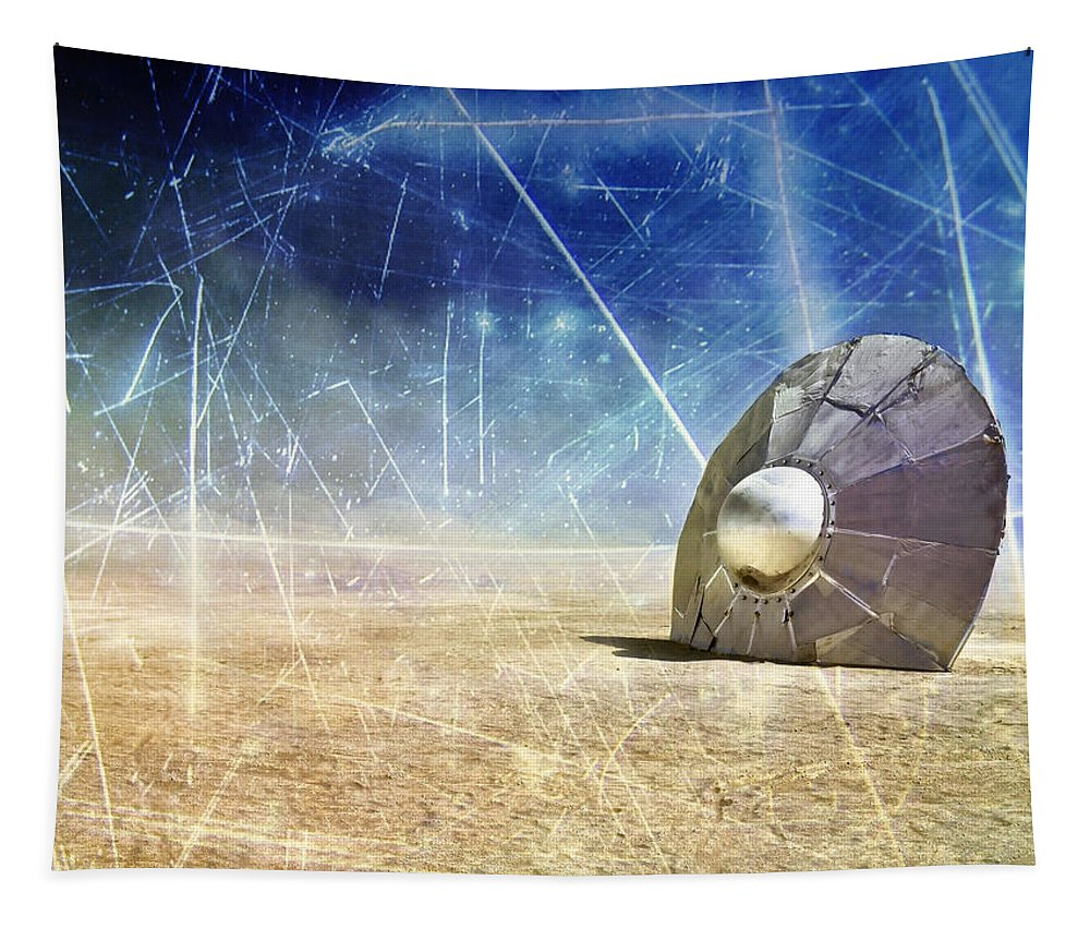 Crash Site Tapestry featuring the photograph Crash Site by Dominic Piperata