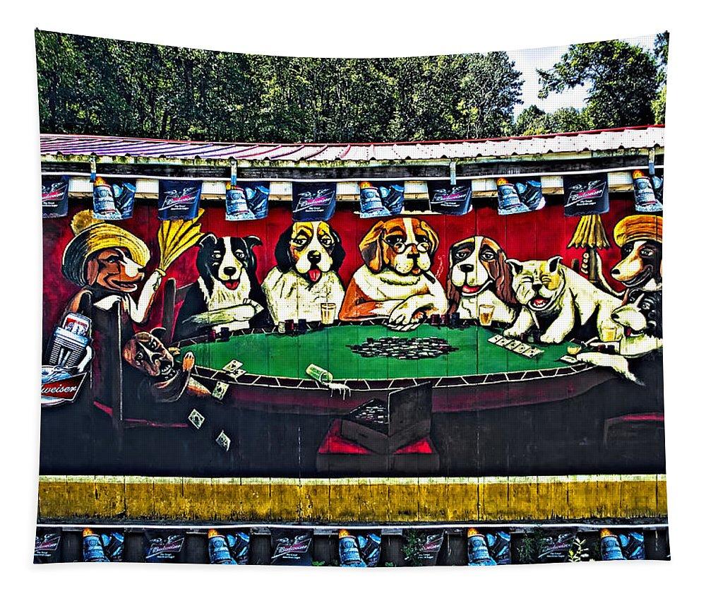 West Virginia Tapestry featuring the photograph Da Guys by Steve Harrington