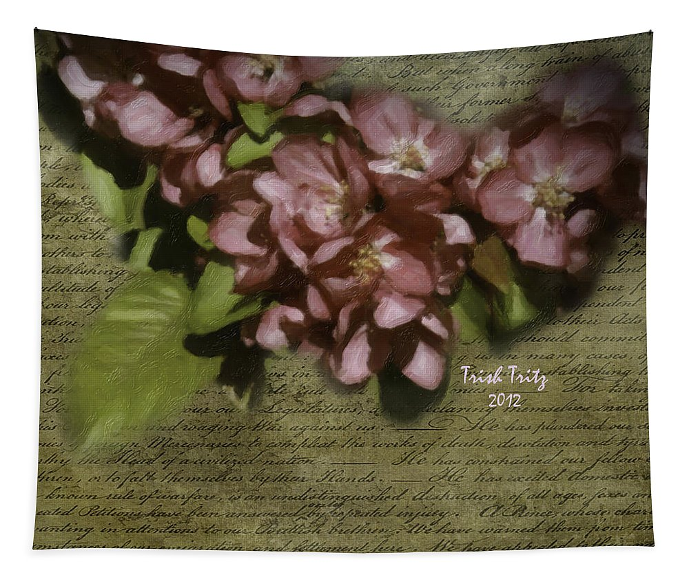 Dogwood Tapestry featuring the photograph Dogwood Days by Trish Tritz