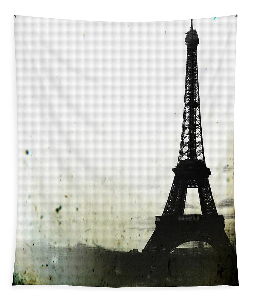 Eiffel Tower Tapestry featuring the photograph Eiffel Tower - Paris by Marianna Mills