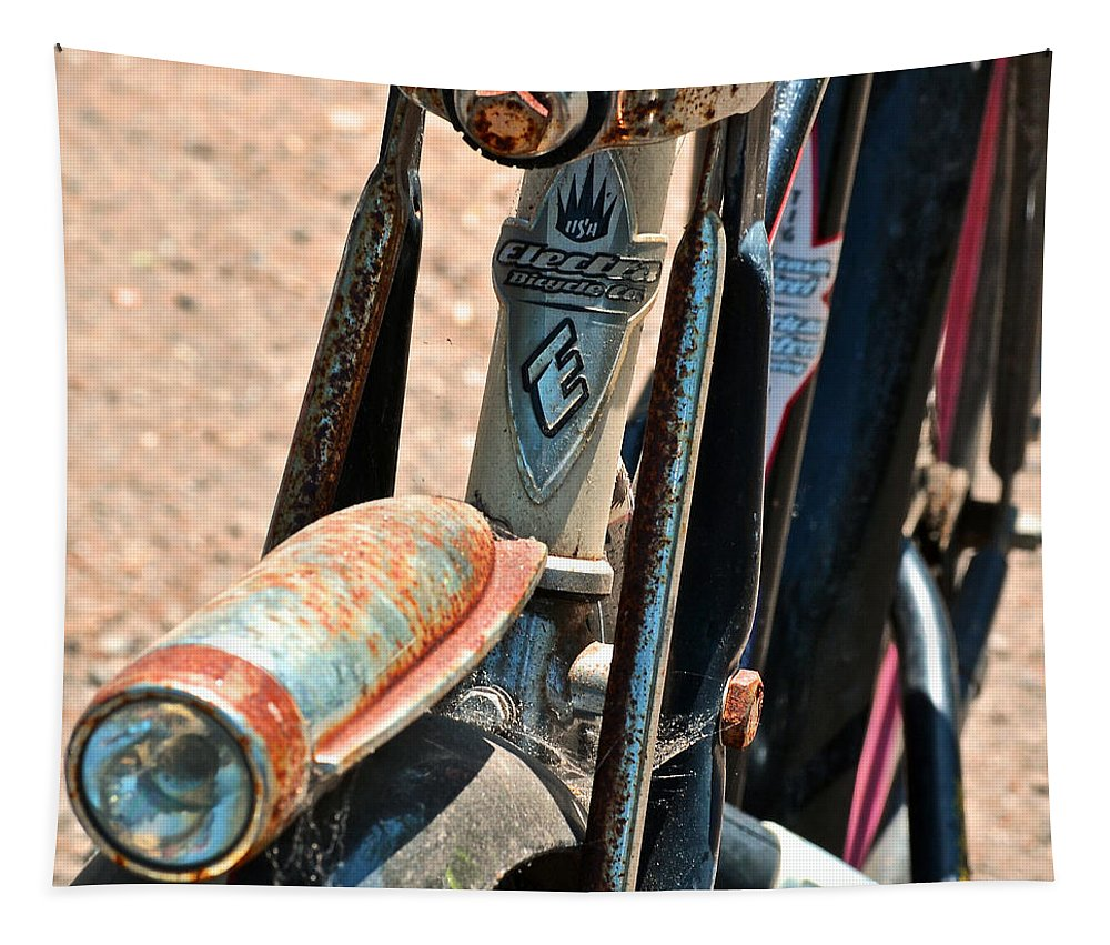 Electra Bicycle Tapestry featuring the photograph Electra Bicycle II by Bill Owen