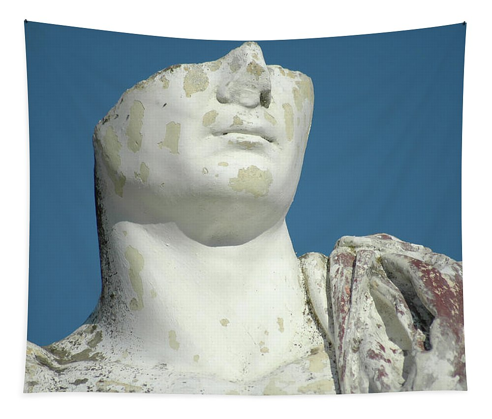 Europe Tapestry featuring the photograph Emperor's Bust by Mary Lane