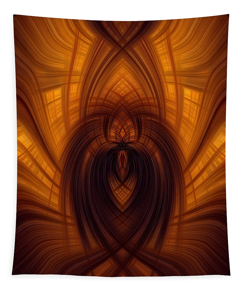 Digital Tapestry featuring the photograph Fawning Obsequiousness by Dale Kincaid
