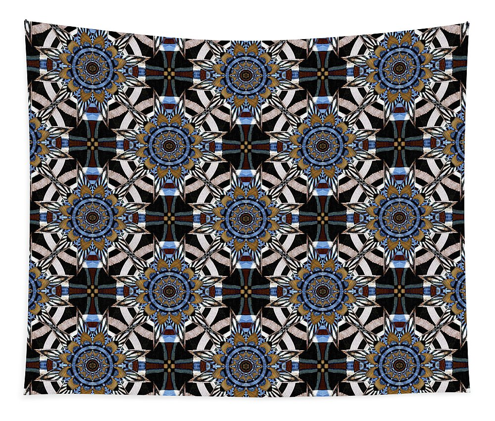 Colonnade Tapestry featuring the photograph Florentine Colonnade Symmetry by Hakon Soreide