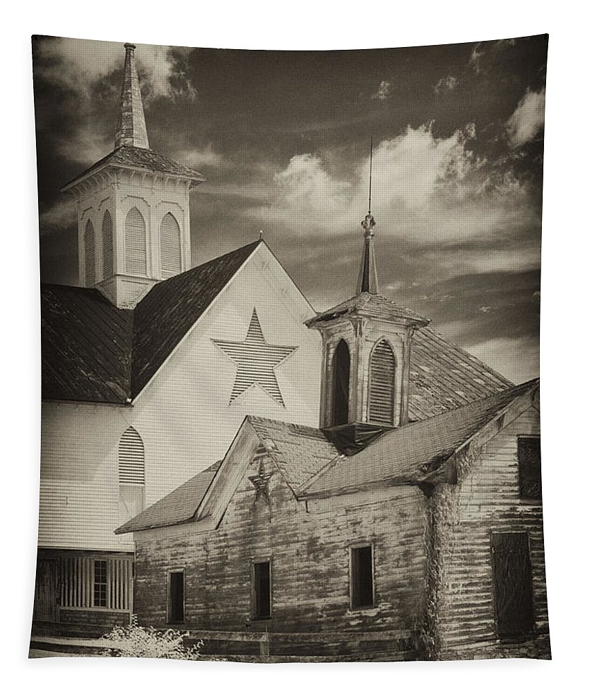 Infrared Tapestry featuring the photograph From Days Gone By by Paul W Faust - Impressions of Light