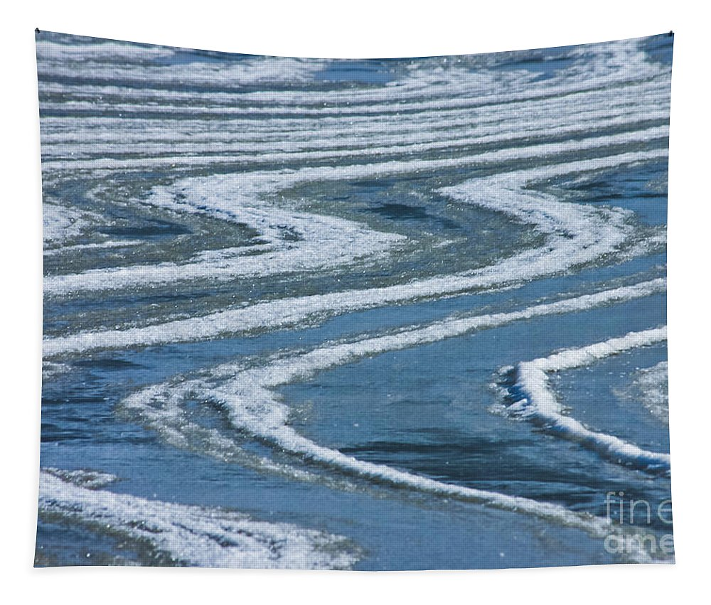 Ice Tapestry featuring the photograph Frozen Waves by Mitch Shindelbower