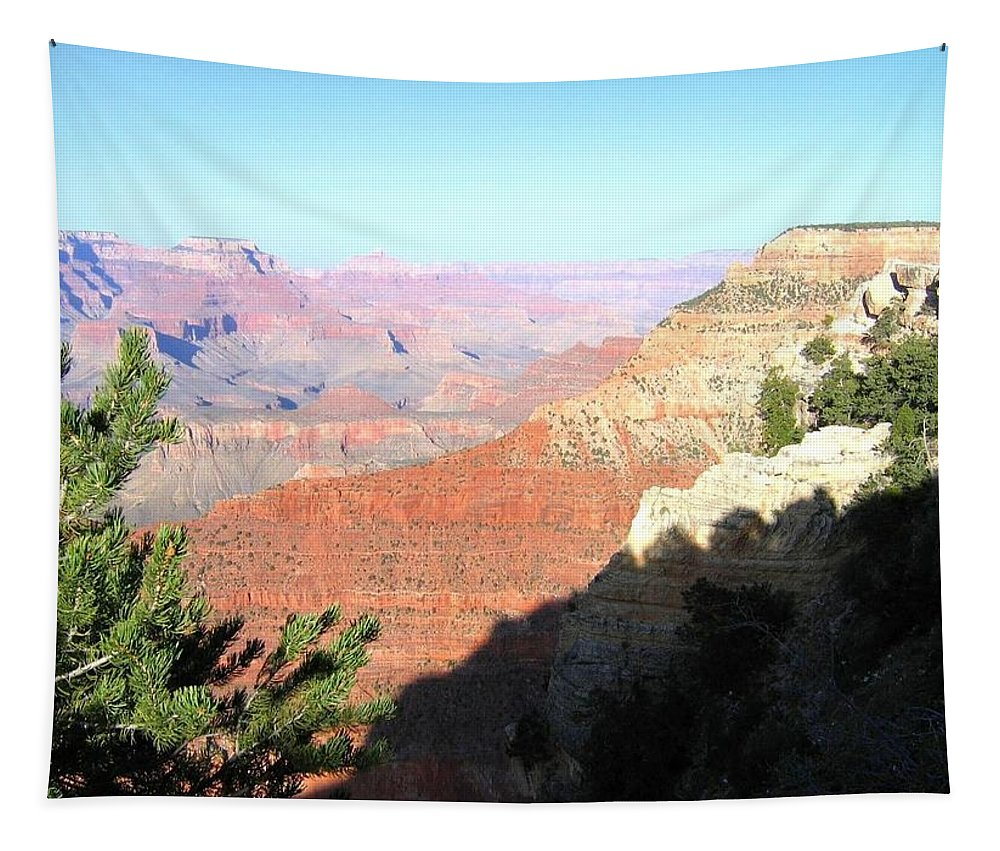 Grand Canyon Tapestry featuring the photograph Grand Canyon 19 by Will Borden