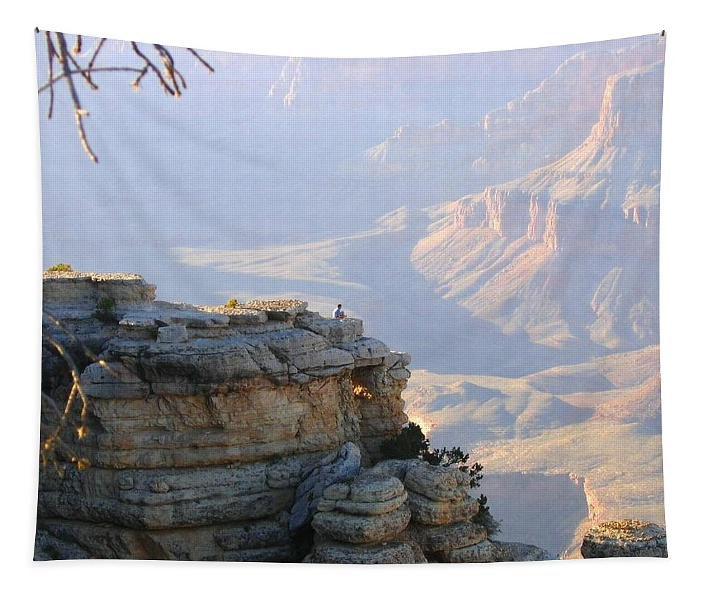 Grand Canyon Tapestry featuring the photograph Grand Canyon 38 by Will Borden