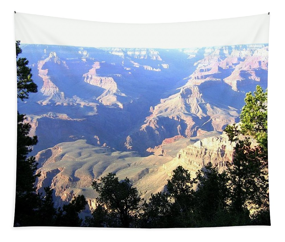 Grand Canyon Tapestry featuring the photograph Grand Canyon 56 by Will Borden