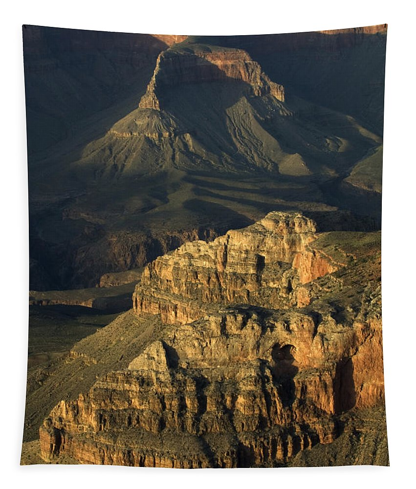 Tapestry featuring the photograph Grand Canyon by Bob Christopher