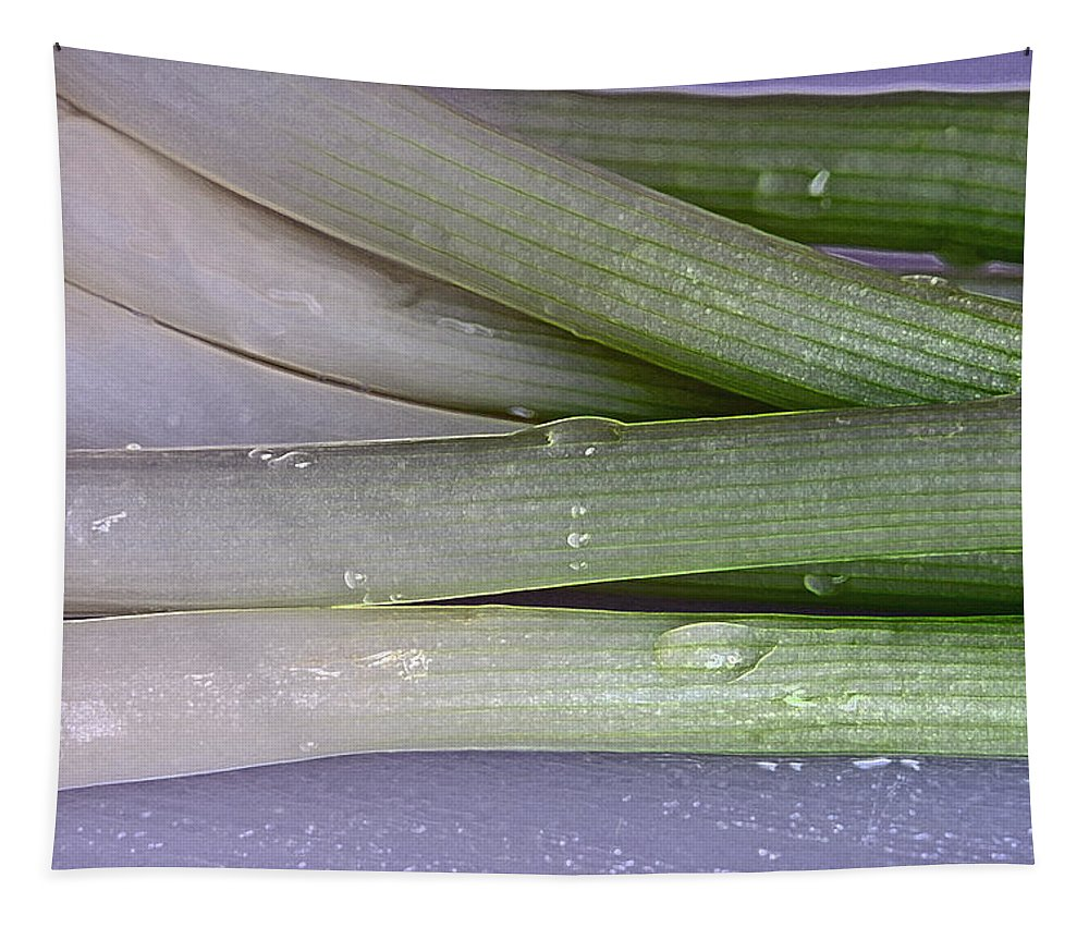 Green Onions Tapestry featuring the photograph Green Onions by Bill Owen
