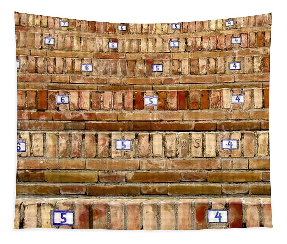 Europa Tapestry featuring the photograph Have A Seat ... by Juergen Weiss
