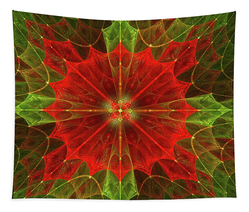 Art Tapestry featuring the photograph Holly by Mary Lane