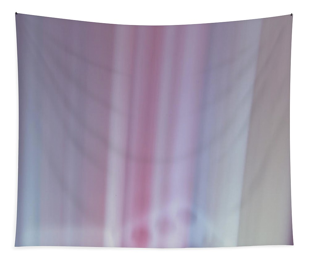 Abstract Art Tapestry featuring the photograph Home Planet - Silos by Bill Owen