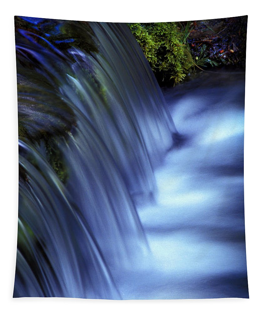 Water Tapestry featuring the photograph Ice Water Blue by Paul W Faust - Impressions of Light