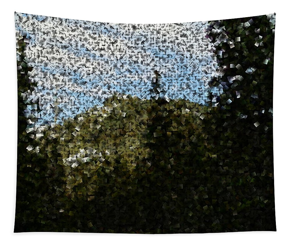 Mountains Tapestry featuring the photograph In Longing Dreams The Vision Comes by Jeff Swan