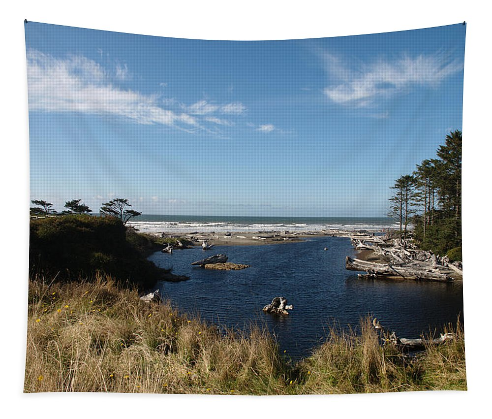 Kalaloch Tapestry featuring the photograph Kalaloch by Michael Merry
