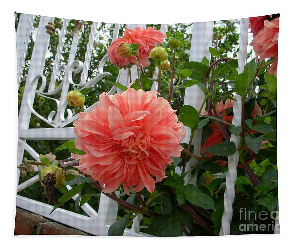Flowers Tapestry featuring the photograph La Esperanza by Yenni Harrison