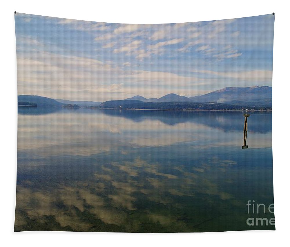 Water Tapestry featuring the photograph Lake Pend Orille by Jeff Swan