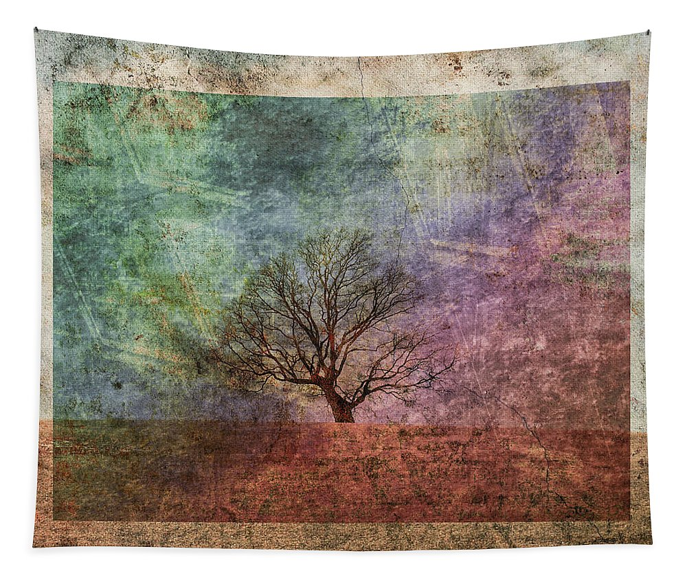 Tree Tapestry featuring the photograph Lean On Me by Trish Tritz