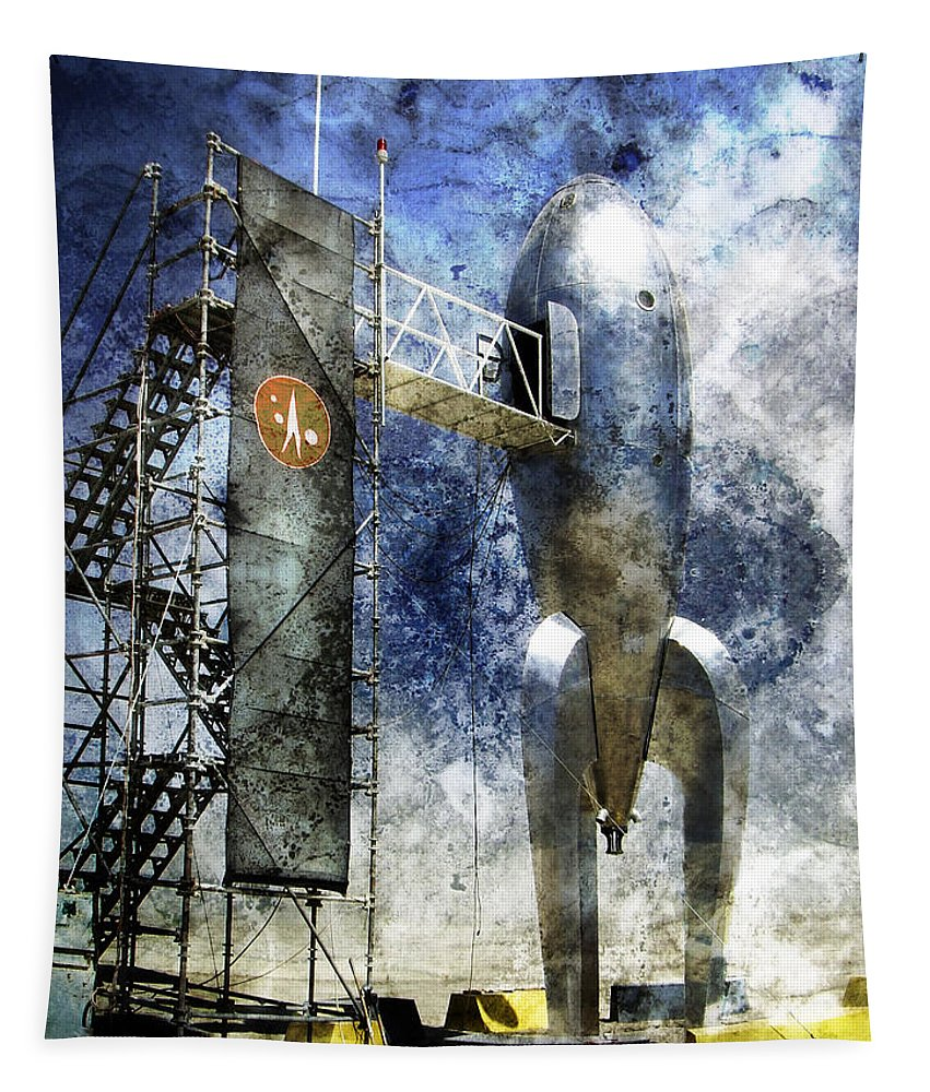 Leaving Home Tapestry featuring the photograph Leaving Home by Dominic Piperata