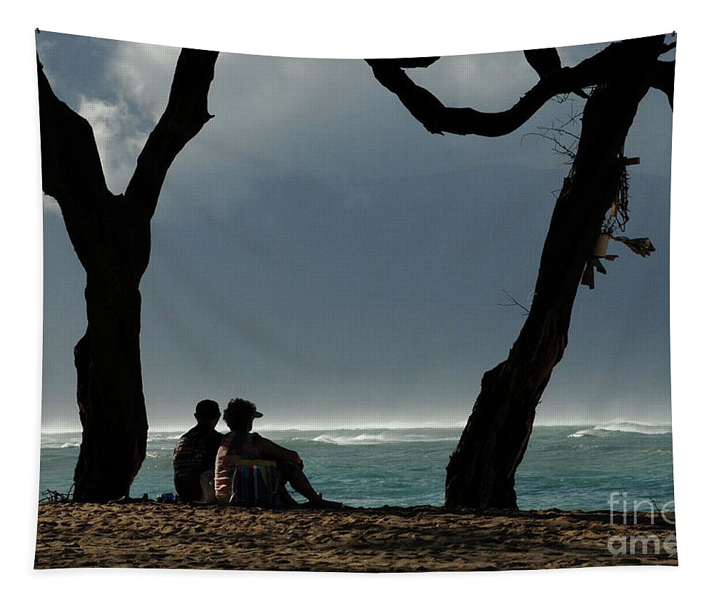 Hawaii Tapestry featuring the photograph Living The Dream by Bob Christopher