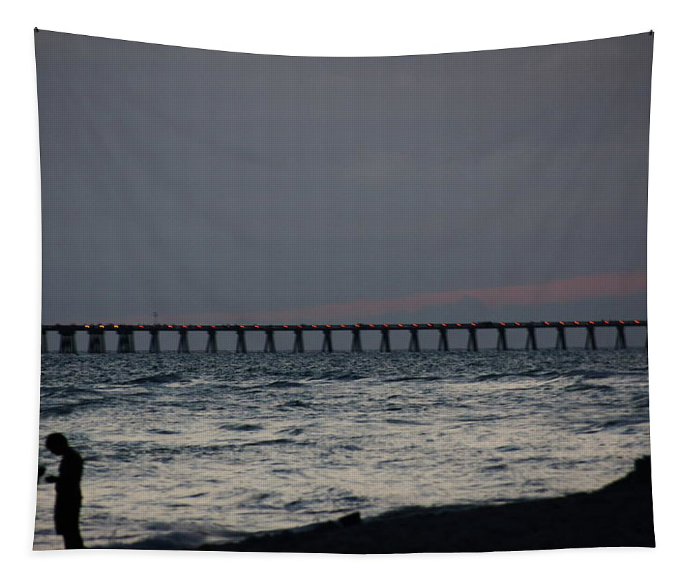 Love Tapestry featuring the photograph Love On The Beach by Paul Wilford
