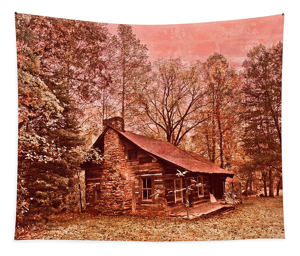 Appalachia Tapestry featuring the photograph Moonshine by Debra and Dave Vanderlaan