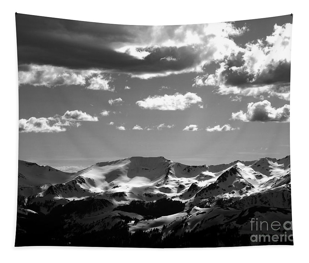 Mountain Tapestry featuring the photograph Mountain View by Charleen Treasures