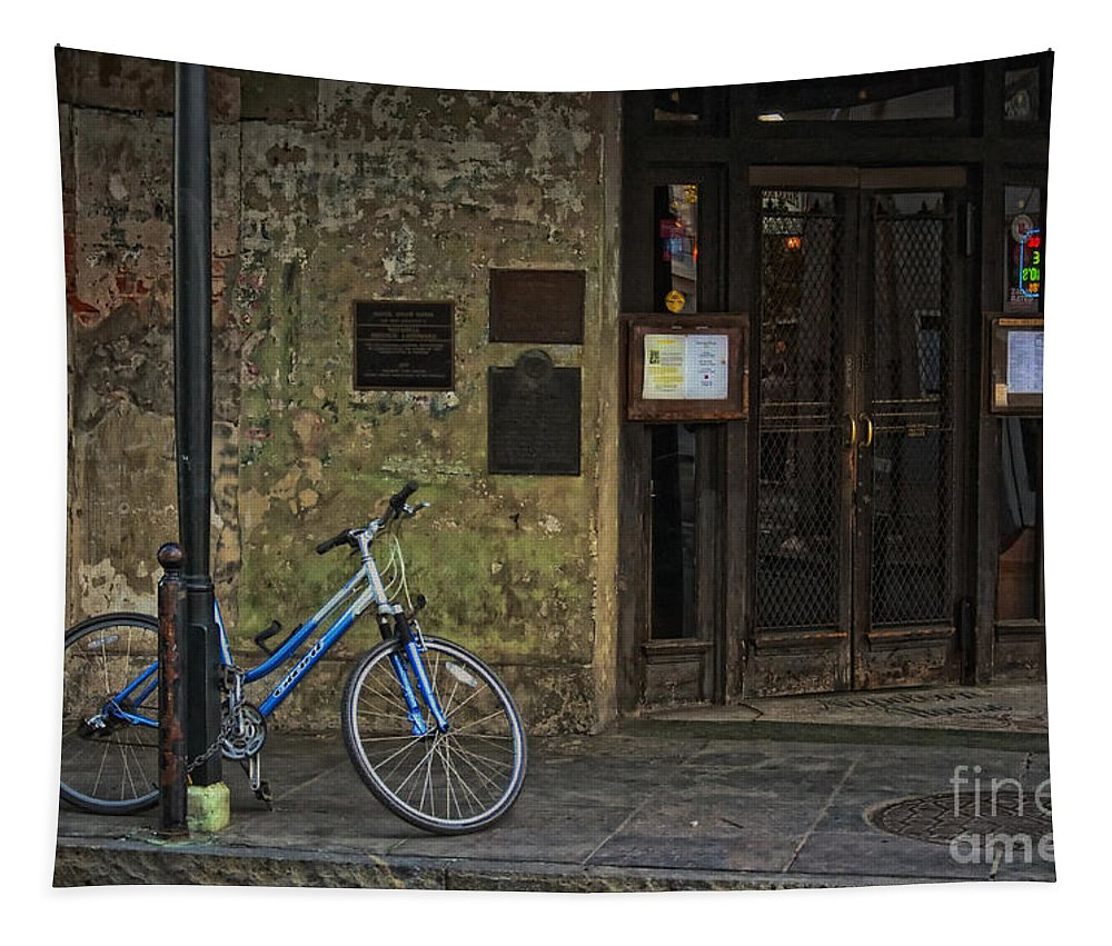 Napoleon Tapestry featuring the photograph Napoleon House New Orleans by Kathleen K Parker
