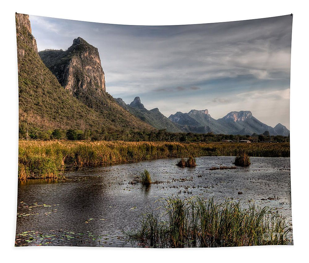 Lake Tapestry featuring the photograph National Park Thailand by Adrian Evans
