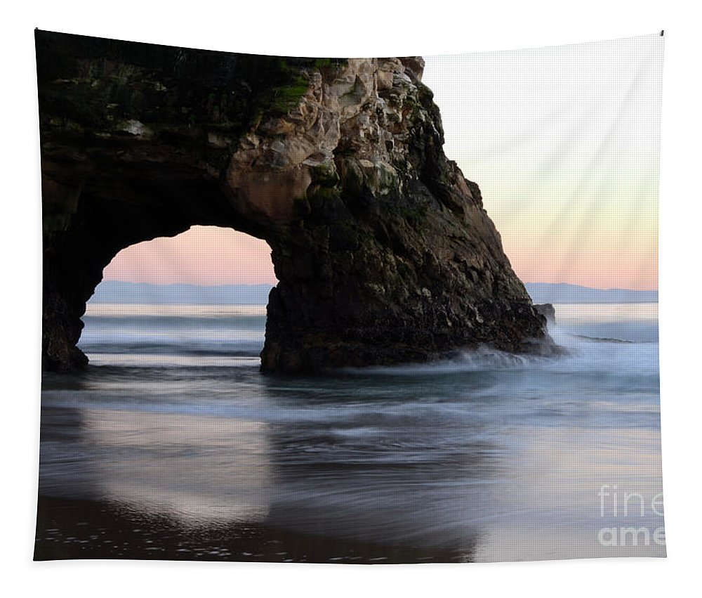 California Tapestry featuring the photograph Natural Bridge by Bob Christopher