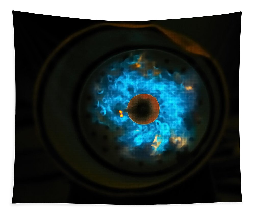 Abstract Tapestry featuring the photograph Nebula by Susan Capuano