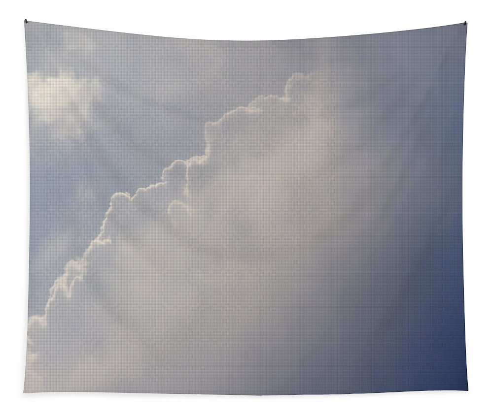 New Tapestry featuring the photograph New Cloud Rising by Mick Anderson