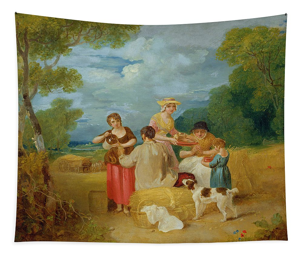 Xyc127220 Tapestry featuring the photograph Noon by Francis Wheatley