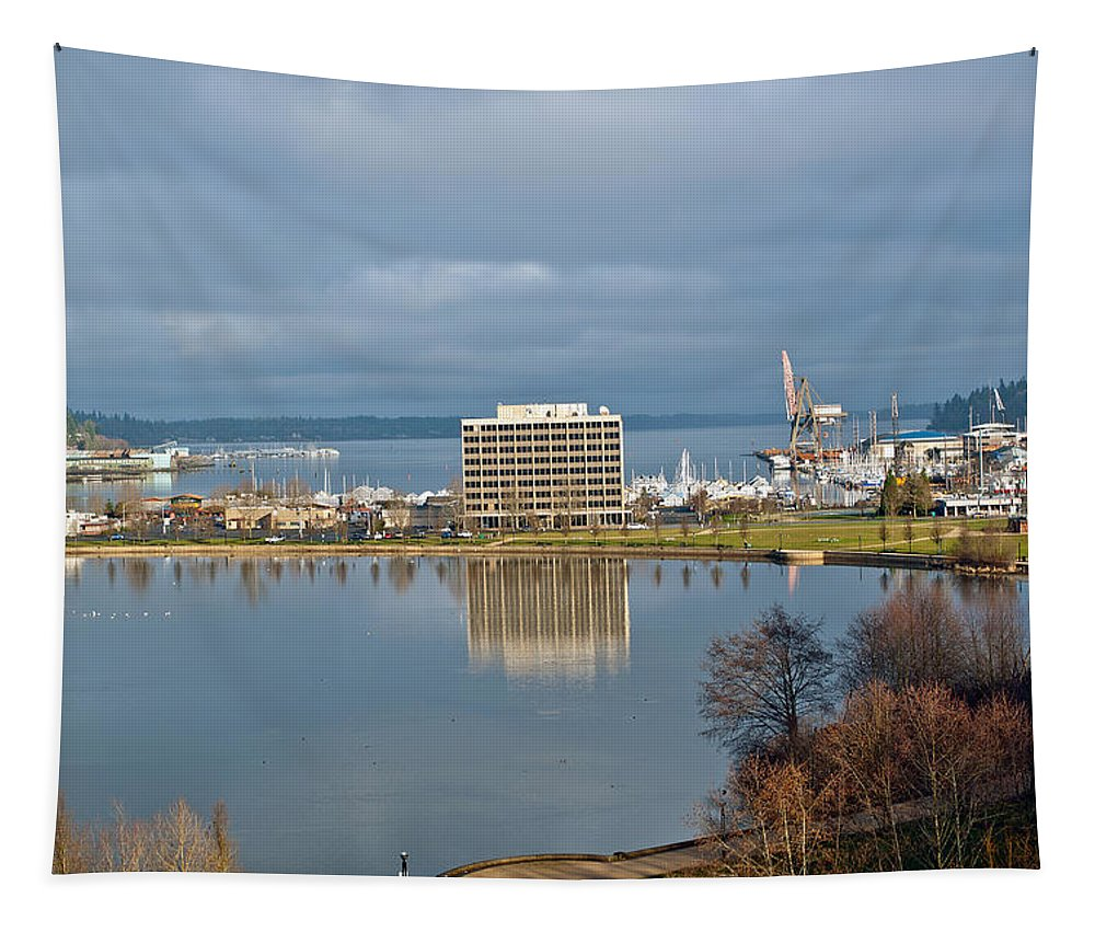 Lake Tapestry featuring the photograph Olympia Lake by Tikvah's Hope