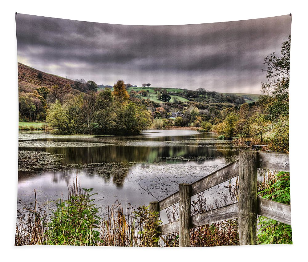 Parc Cwm Darran Tapestry featuring the photograph Parc Cwm Darran 1 by Steve Purnell
