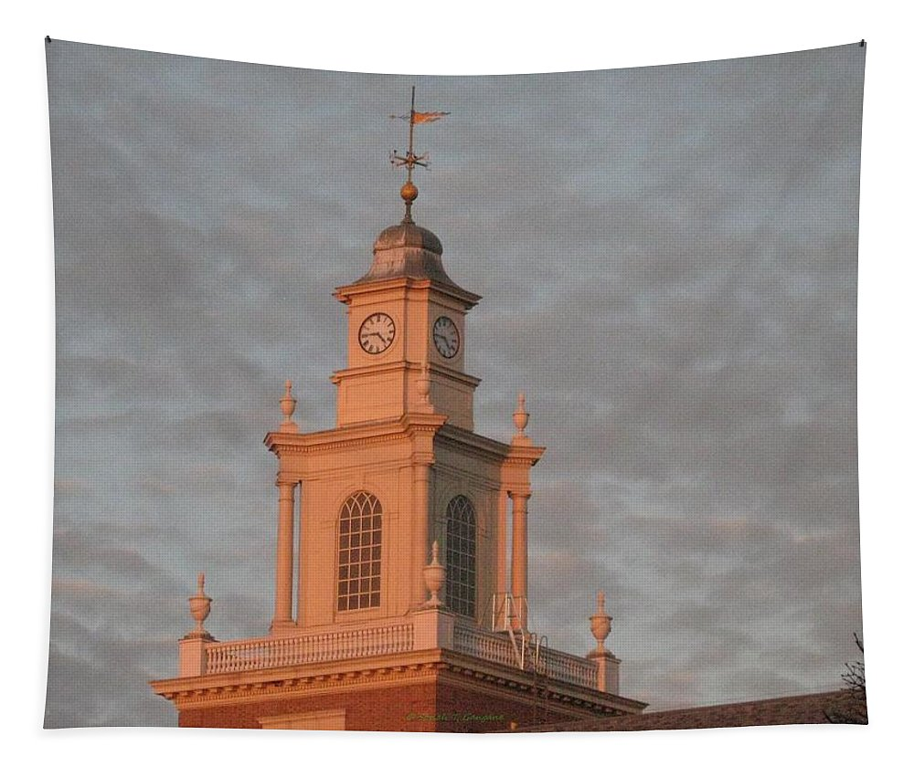 A Beautiful Evening Tapestry featuring the photograph Pearl Evening by Sonali Gangane