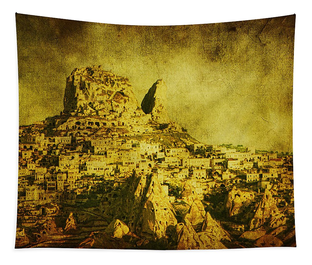 Cappadocia Tapestry featuring the photograph Persian Empire by Andrew Paranavitana