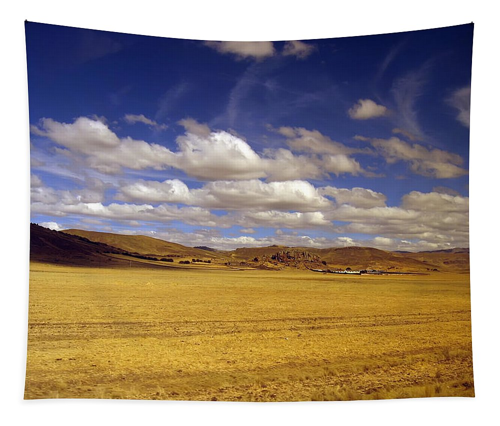 High Plain Tapestry featuring the photograph Peruvian High Plains 2 by RicardMN Photography
