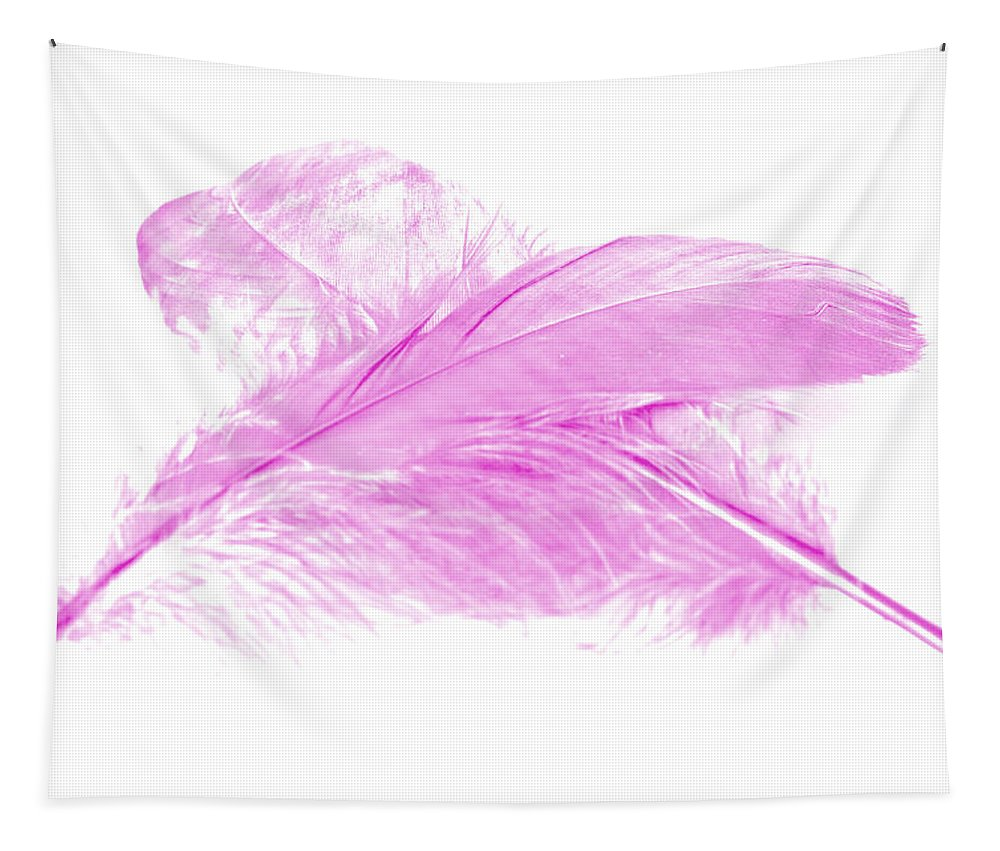 Pink Goose Tapestry featuring the photograph Pink Ghost by Steve Purnell
