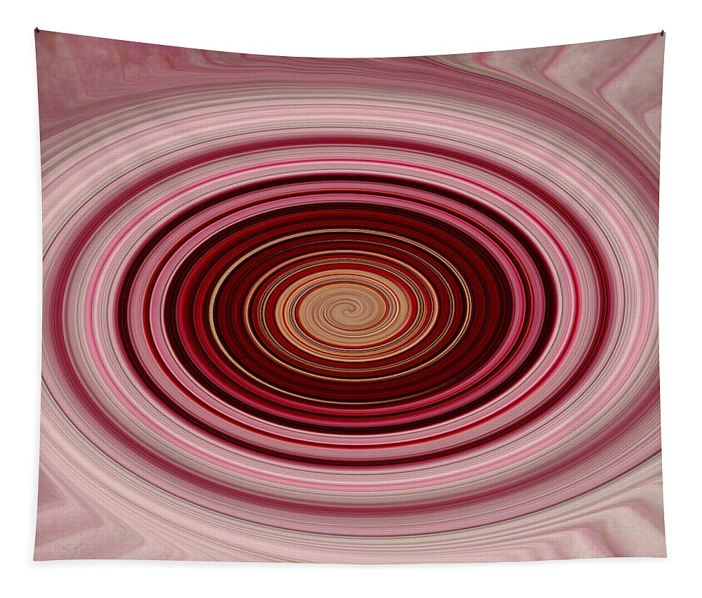 Pink Tapestry featuring the photograph Pink Vortex by Aimee L Maher ALM GALLERY