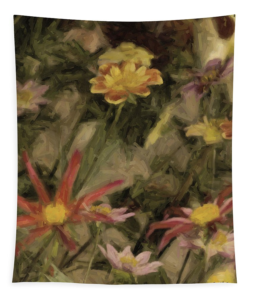Flower Tapestry featuring the photograph Prettier Than A Presidential Debate by Trish Tritz