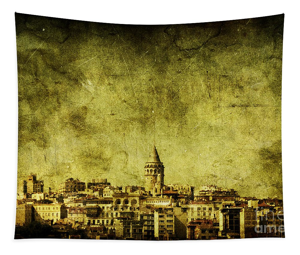 Istanbul Tapestry featuring the photograph Recollection by Andrew Paranavitana