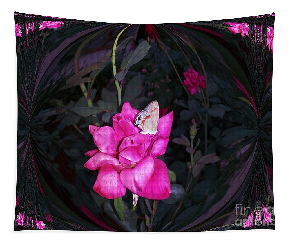 Plant Tapestry featuring the photograph Reflective Beauty by Donna Brown