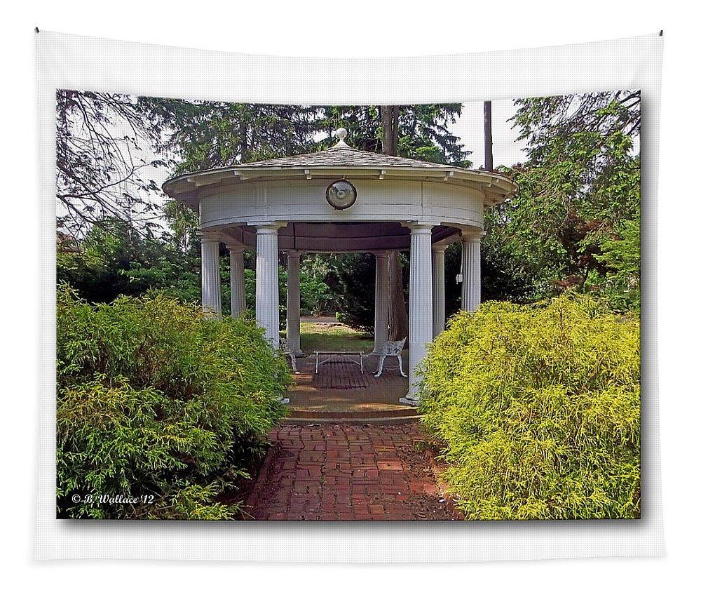 Rotunda Tapestry featuring the photograph Rotunda by Brian Wallace