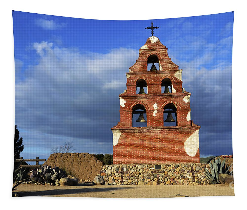 San Miguel Tapestry featuring the photograph San Miguel California by Bob Christopher