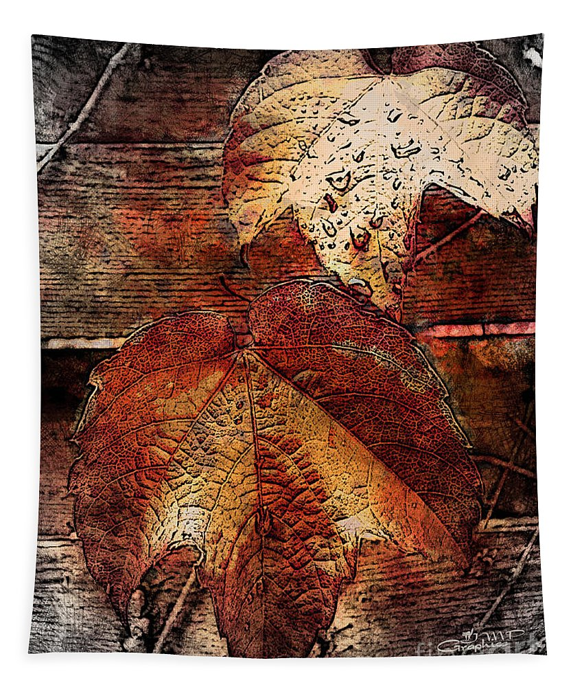 Dying Tapestry featuring the photograph Slowly Dying by Jutta Maria Pusl